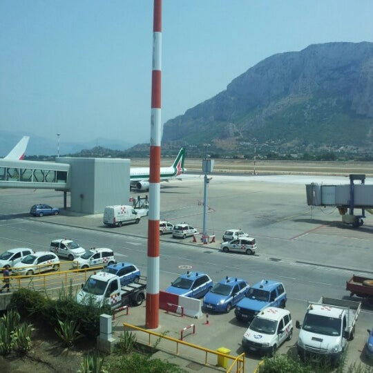 Photo taken at Palermo Airport (PMO) by John P. on 8/7/2012