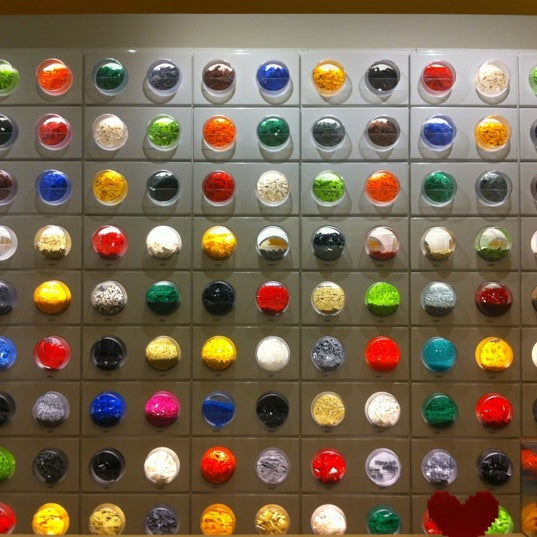 Photo taken at The LEGO Store by Rhyse C. on 2/11/2012