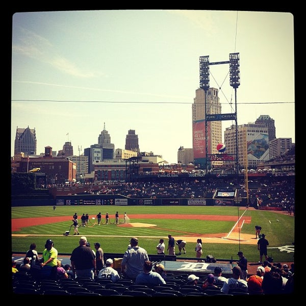 Photo taken at Comerica Park by Taylor N. on 7/21/2012