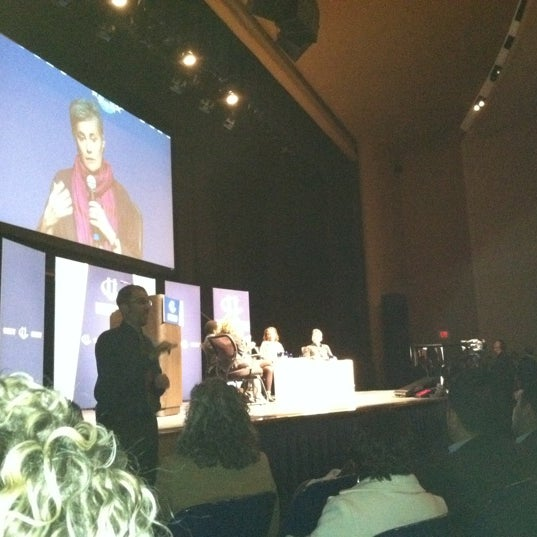 Photo taken at Lisner Auditorium by Chas P. on 3/31/2012
