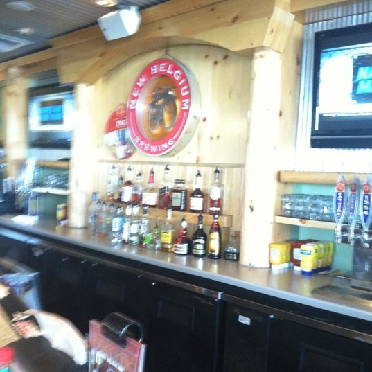 Photo taken at New Belgium Brewing Hub by Phil B. on 3/3/2012