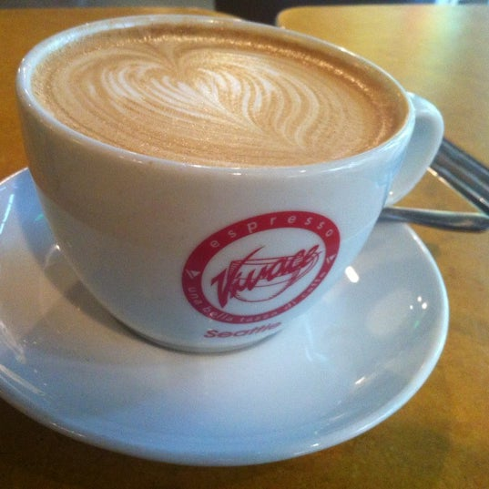 Photo taken at Espresso Vivace by Melissa F. on 6/25/2012