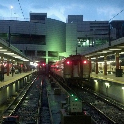 Photo taken at South Station Terminal (MBTA / Amtrak) by andres m. on 9/7/2012