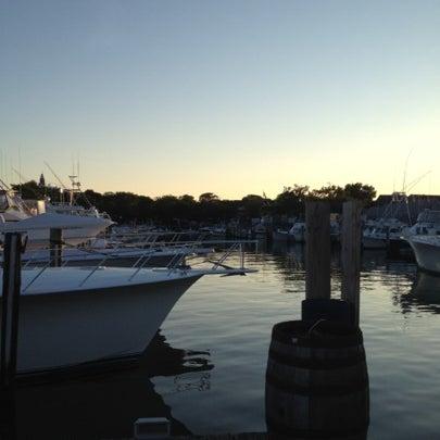 Photo taken at Nantucket Boat Basin by Lisa M. on 7/22/2012