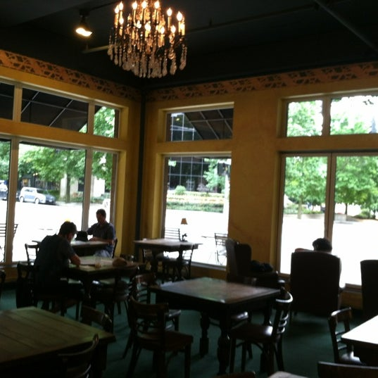 Photo taken at Uptown Espresso by Katherine E. on 8/19/2012