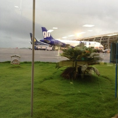 Photo taken at Goa International Airport / Dabolim Airport (GOI) by Nithin J. on 8/27/2012