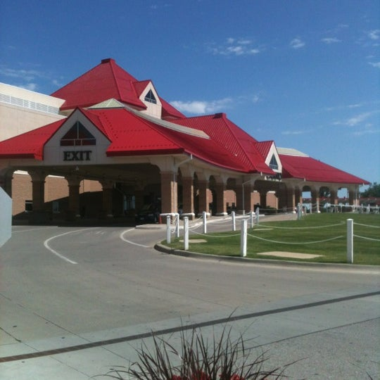 Photo taken at Prairie Meadows by Elonzo K. on 6/22/2012