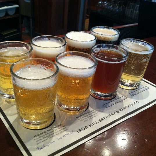 Photo taken at Iron Hill Brewery & Restaurant by Joe S. on 8/17/2012
