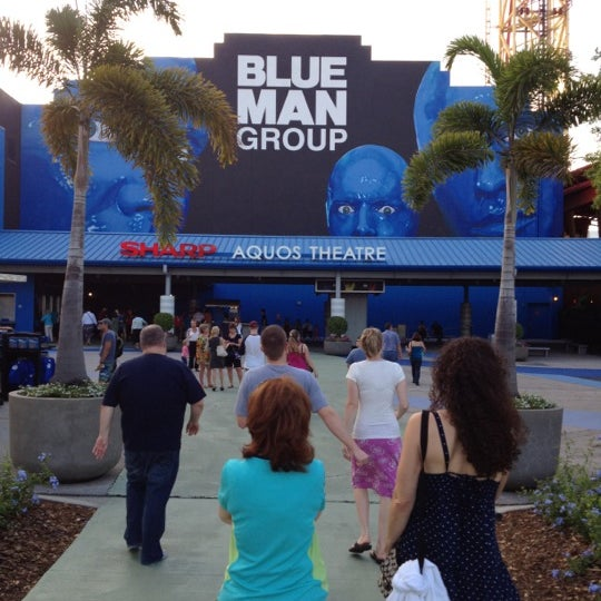 Photo taken at Blue Man Group at Universal CityWalk by Robert W. on 3/8/2012