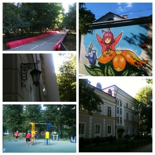 Снимок сделан в Щемиловский детский парк пользователем Maria 7/1/2012