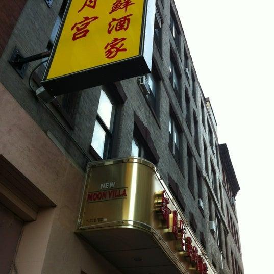 Photo taken at Moon Villa Restaurant by Yang X. on 8/13/2012