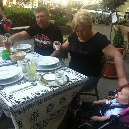 5/25/2012 tarihinde Olesia M.ziyaretçi tarafından Honça Anatolia Cuisine'de çekilen fotoğraf