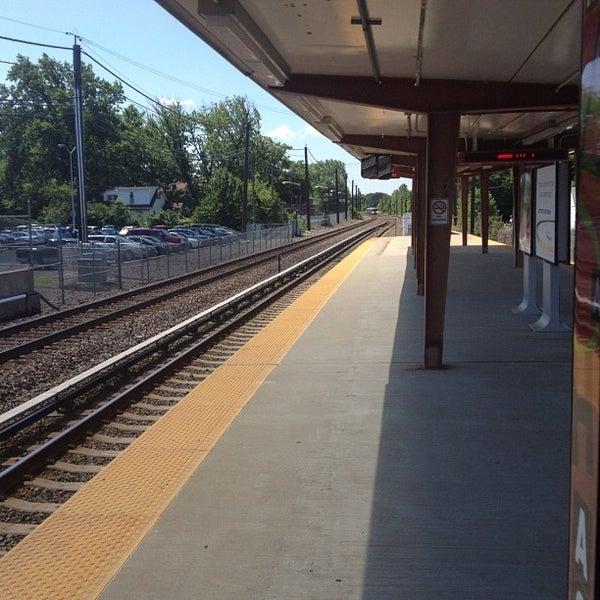 Photo taken at PATCO: Ashland Station by Jeff K. on 6/27/2012