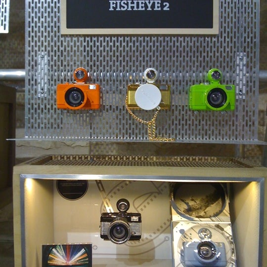 Photo taken at Lomography Gallery Store Austin by Oscar D. on 5/15/2012