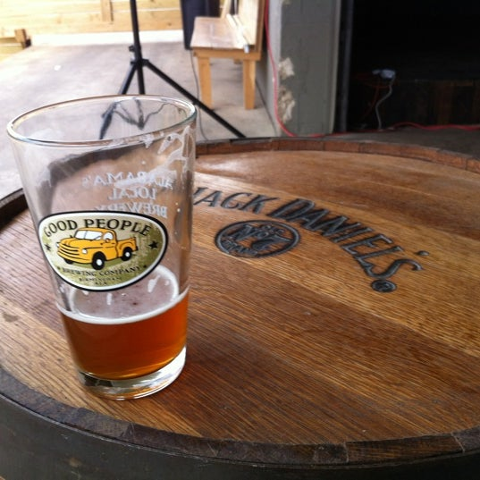 Photo taken at Good People Brewing Company by Steve N. on 3/25/2012