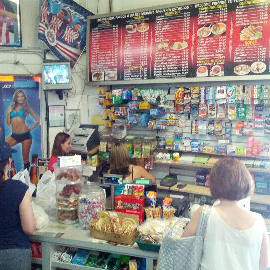 Photo taken at Establos Meat Market by Mike D. on 8/19/2012