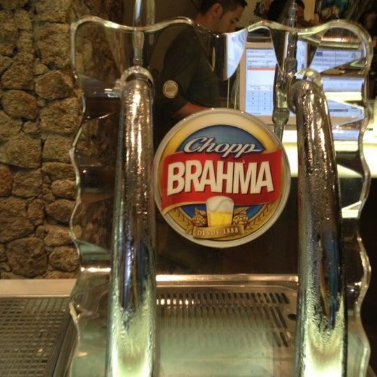 Quando o bar é bom, o chopp é brahma