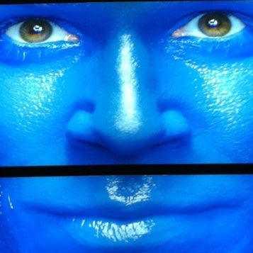 Photo taken at Blue Man Group at Universal CityWalk by Dave S. on 3/2/2012