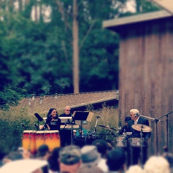 Photo taken at Sigmund Stern Grove by Henry S. on 7/22/2012