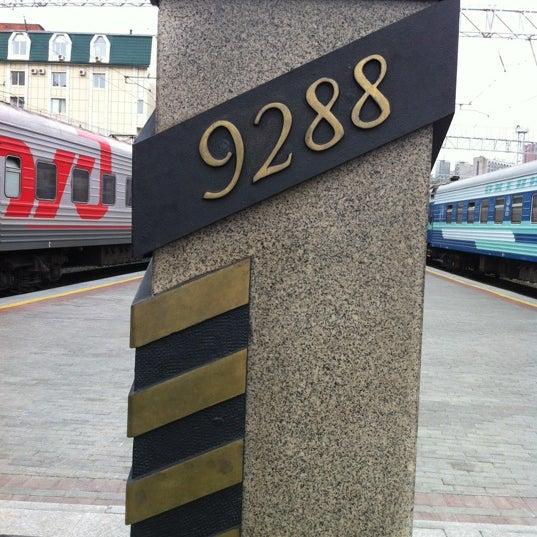 Photo taken at Железнодорожный вокзал Владивостока / Vladivostok Railway Station by J S. on 8/8/2012