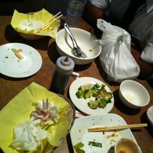 Photo taken at Hue Thai by Romel on 6/20/2012