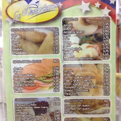 Photo taken at Panadería Los Venezolanos by Tiffany C. on 7/18/2012