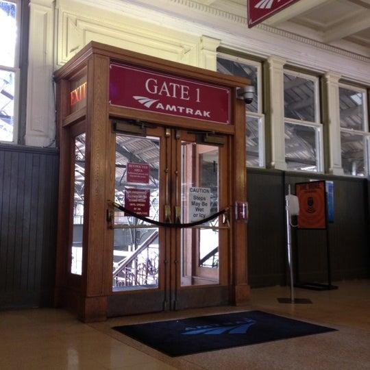 Photo taken at Amtrak: Harrisburg Transportation Center (HAR) by Meg~ on 6/2/2012