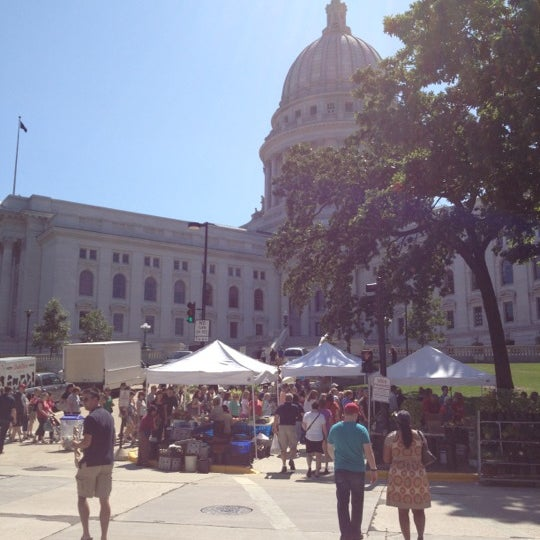 Photo taken at Dane County Farmers' Market by Paul B. on 8/11/2012