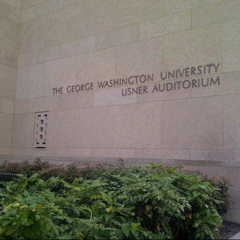 Photo taken at Lisner Auditorium by Christina L. on 9/6/2012