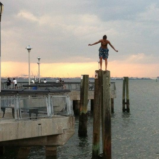 Photo taken at Louis Valentino Jr Park & Pier by John H. on 7/25/2012