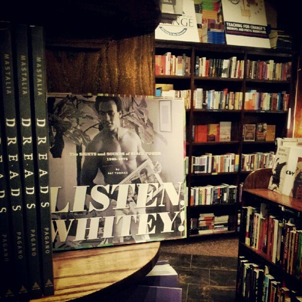 Photo taken at Busboys and Poets by Jon P. on 7/21/2012