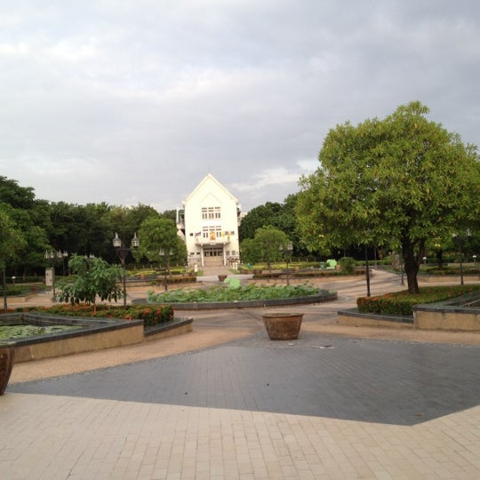 Photo taken at Queen Sirikit Park by Toon A. on 6/13/2012
