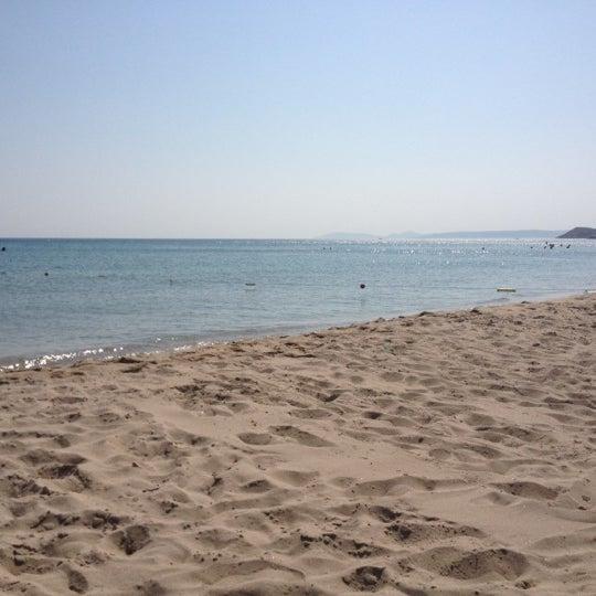 Photo taken at Ramo Beach by M.S.B on 8/10/2012