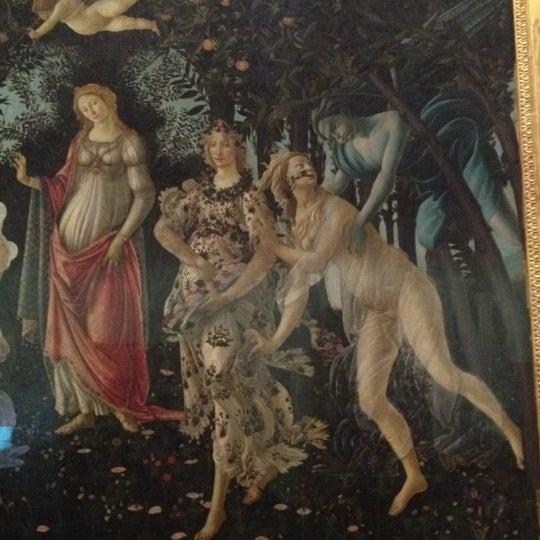 Photo taken at Uffizi Gallery by Oksana K. on 6/12/2012