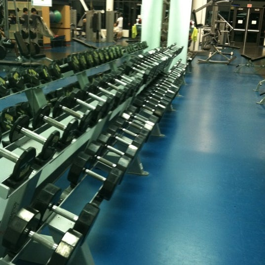 Photo taken at Aquatic and Fitness Center - George Mason University by Vitali S. on 7/12/2012