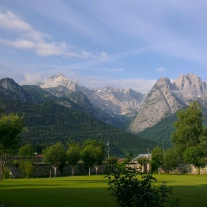 Photo taken at Edelweiss Lodge and Resort by Cory L. on 6/23/2012