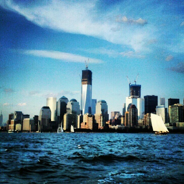 Photo taken at New York Harbor by Benton Y. on 7/9/2012
