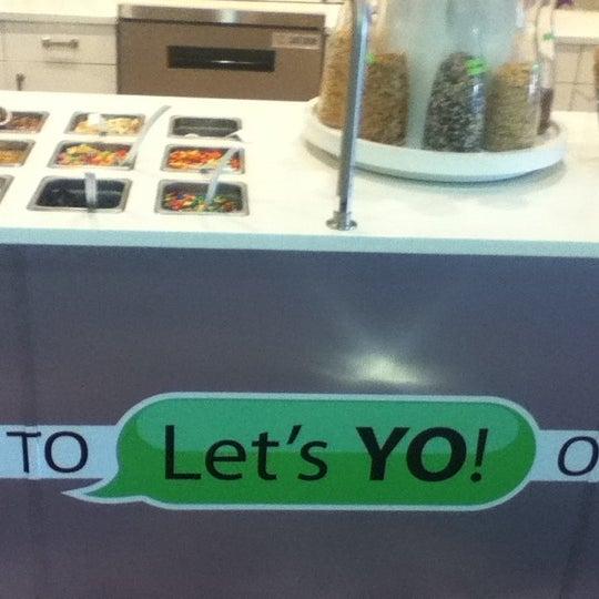 Photo taken at Let's YO! Yogurt by Seamas O. on 6/23/2012