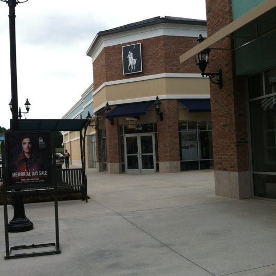 Photo taken at Tanger Outlet Mebane by Michael Y. on 5/23/2012
