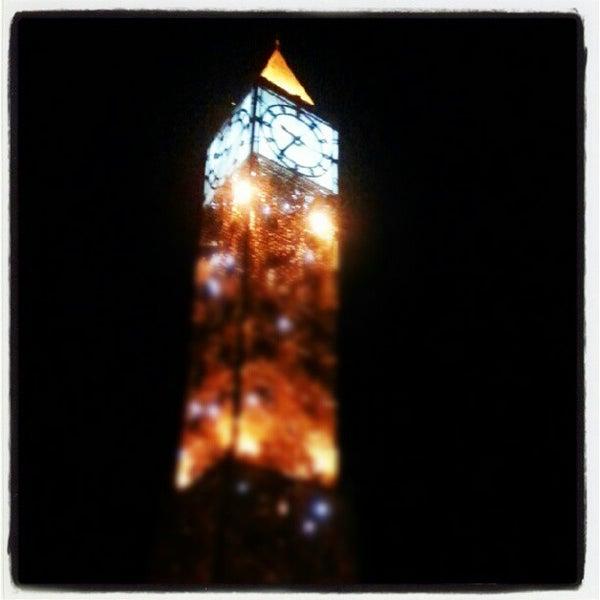 Photo taken at Avenue Habib Bourguiba by Marwen K. on 8/19/2012