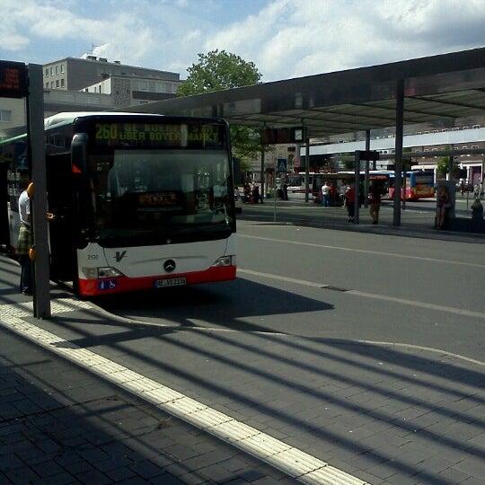 h bottrop zob berliner platz bus station in bottrop. Black Bedroom Furniture Sets. Home Design Ideas