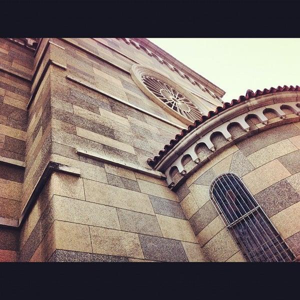 Photo taken at Iglesia Nuestra Señora De La Chiquinquira by Luis S. on 5/28/2012