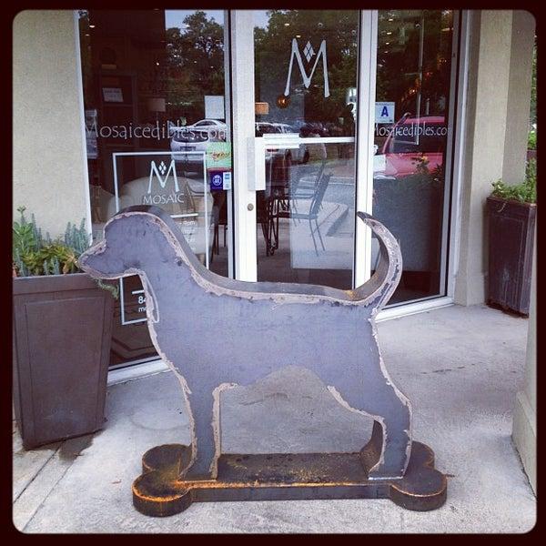Photo taken at MOSAIC Restaurant Charleston by Jeni B. on 5/16/2012