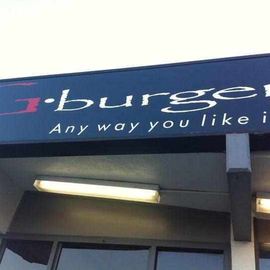 Photo taken at G Burger by Tai T. on 6/23/2012