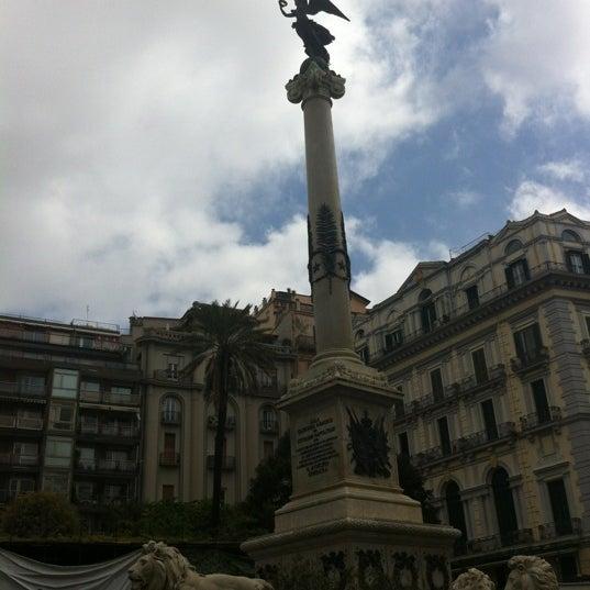 Photo taken at Piazza dei Martiri by Luca B. on 4/22/2012