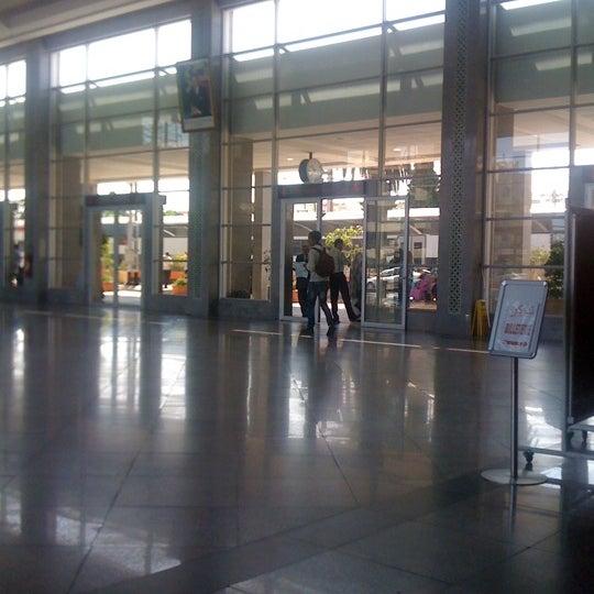 Photo taken at Gare de Mohammédia  محطة المحمدية by Abdelkader O. on 6/3/2012