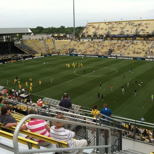 Photo taken at MAPFRE Stadium by Teague W. on 7/14/2012