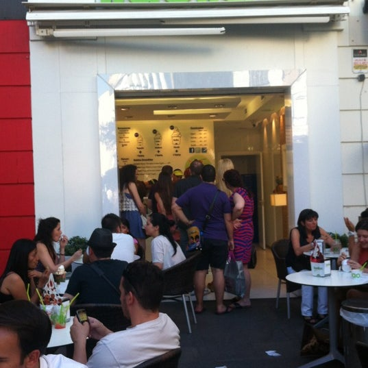 Photo taken at llaollao by Marta C. on 7/9/2012
