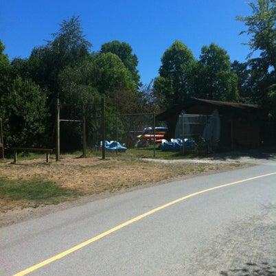 Photo taken at Green Lake Boathouse by Matthew C. on 8/4/2012