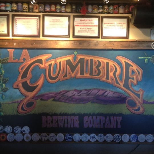 Photo taken at La Cumbre Brewing Company by Devin H. on 6/7/2012